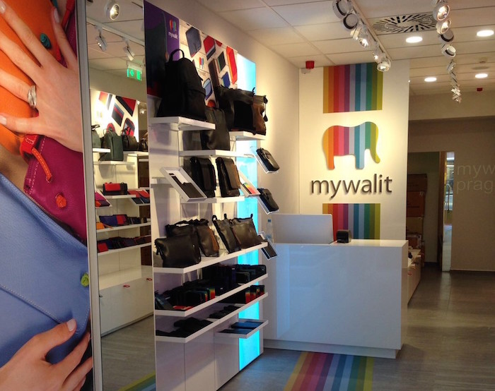 V Praze v ulici Na Příkopě otevřela svůj první kamenný obchod v Česku značka MyWalit.