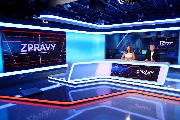 Zpravodajské studio ZPrávy FTV Prima, foto: FTV Prima