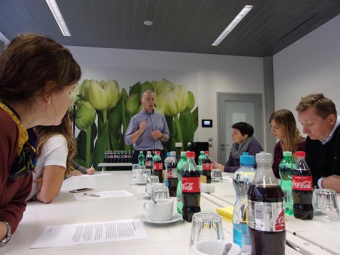 Tom Kinnaird na semináři AKA Negotiation for Leaders, foto: Martin Vymětal