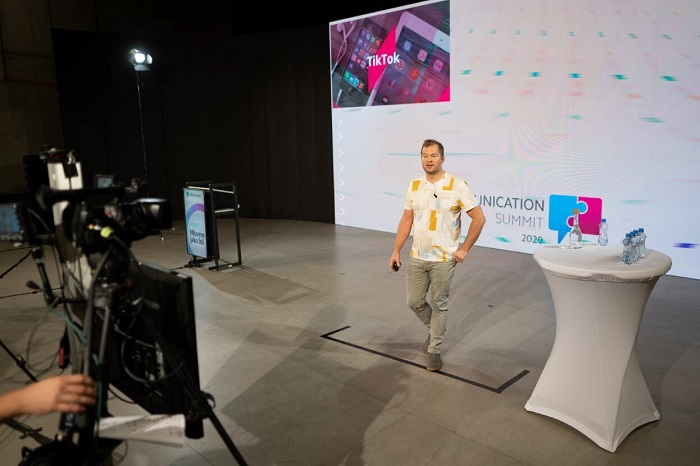 Jan Podzimek na konferenci Communication Summit 2020, zdroj: Blue Events