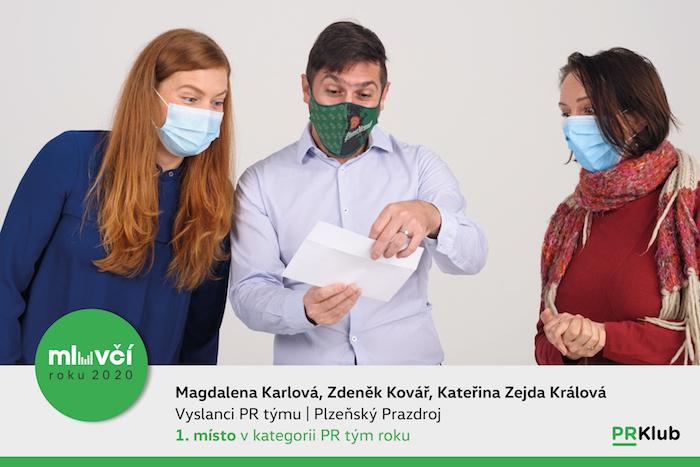 PR tým roku: Zástupci Plzeňského Prazdroje, zdroj: PR Klub