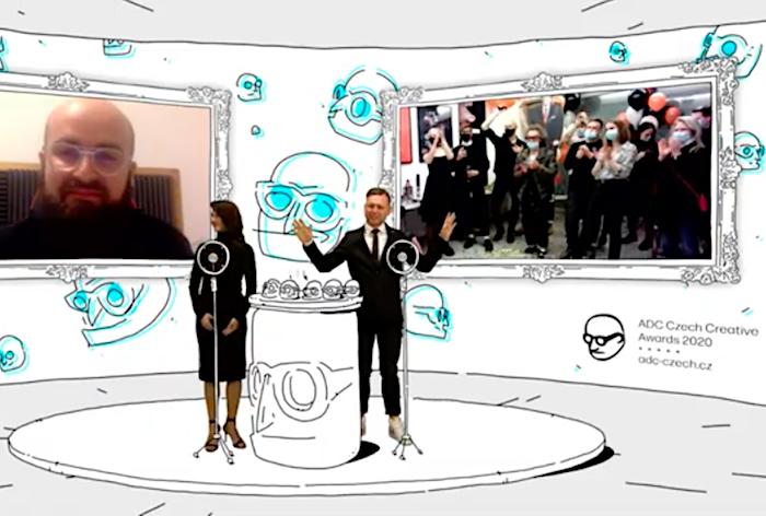 """Grand Prix putuje do Symbia za kampaň """"Projev, který se nikdy nestal"""" pro HBO Europe, zdroj: Repro YT ADC"""
