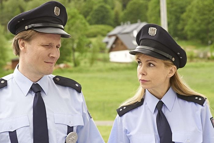 Policie Modrava, zdroj: TV Nova