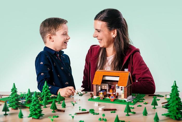 Z vánoční kampaně značky Lego, zdroj: Lego