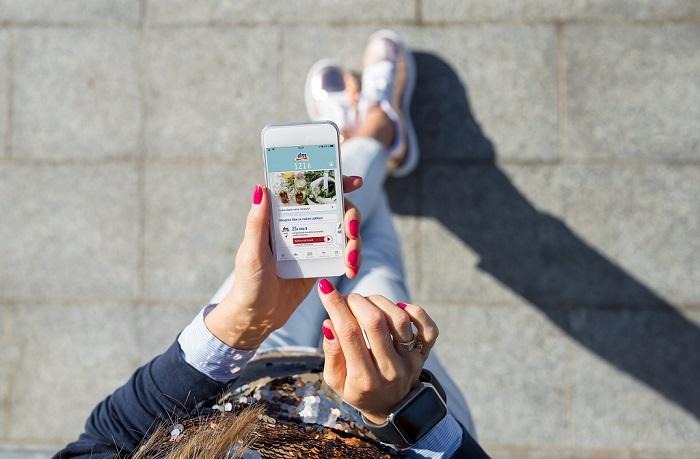 K 1. listopadu znamenala aplikace active beauty přes 70 tisíc stažení, zdroj: dm drogerie