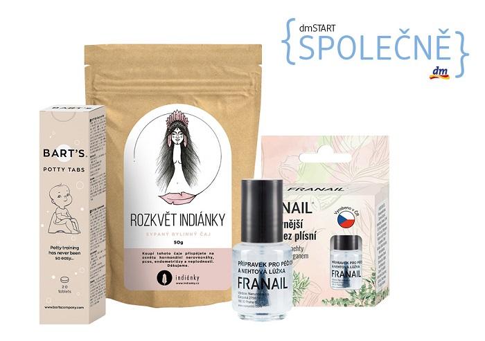 Vítězné produkty se nyní prodávají v dm, lak na nehty Franail je v rámci své sortimentní kategorie osmým nejprodávanějším produktem. zdroj: dm drogerie