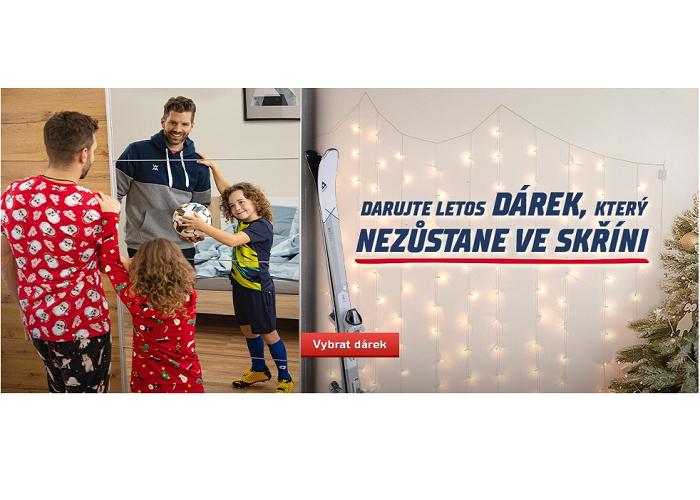 Vizuál vánoční kampaně Sportisimo, zdroj: Sportisimo