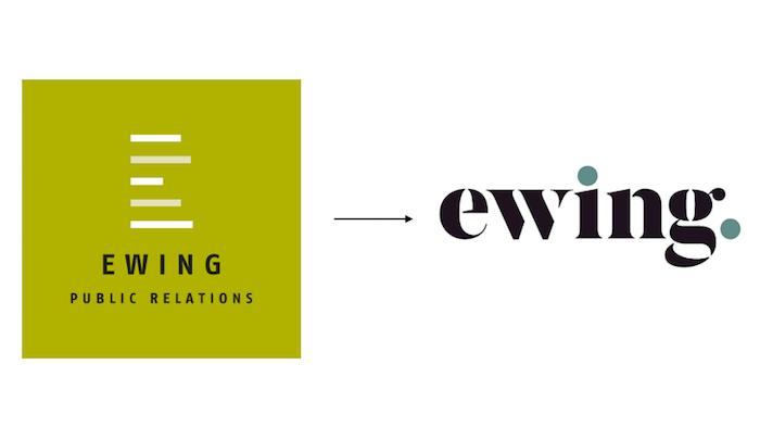 Změna vizuální identity agentury Ewing, zdroj: Ewing