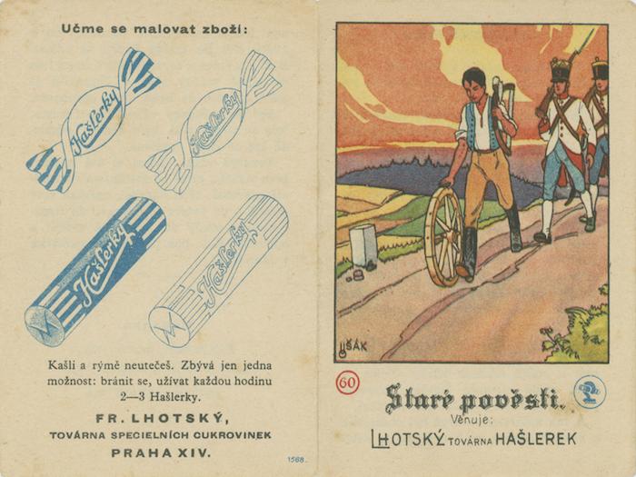 Vydávaly i knížky jako dárek, zdroj: Nestlé.