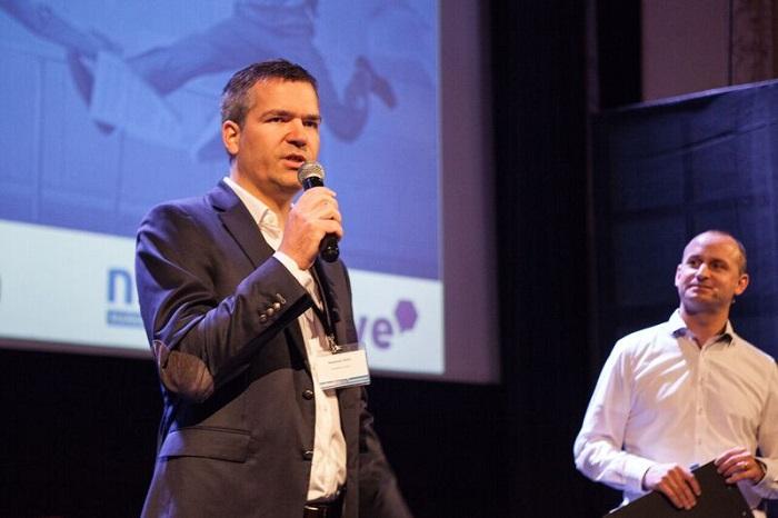 Rostislav Starý z PR.Konektor na konferenci Earned Media, foto: PR.Konektor