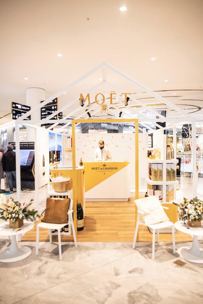 Šampaňské Moët & Chandon otevřelo svůj sváteční pop-up v obchodním centru Westfield Chodov, zdroj: Moët & Chandon.