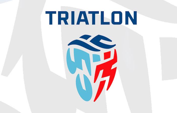 Nové logo českého triatlonu od Lumíra Kajnara, zdroj: ČTA