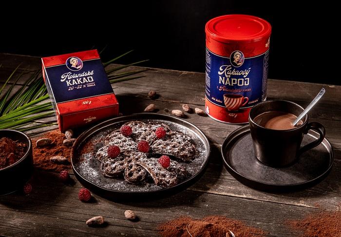 Holandské kakao je nejprodávanějším produktem, kakaový nápoj pak letošní novinkou, zdroj: Kávoviny