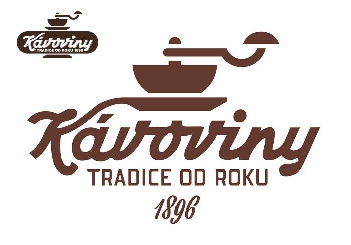 Firma inovovala po 20 letech logo, vlevo nahoře staré logo, zdroj: Kávoviny