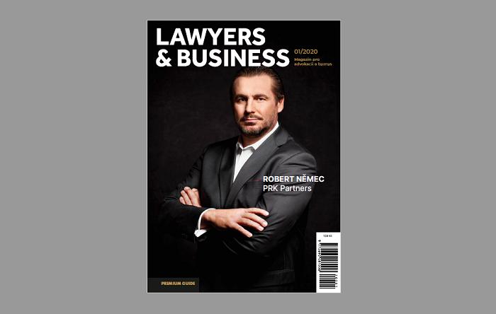 Titulní strana Lawyers & Business, zdroj: A11