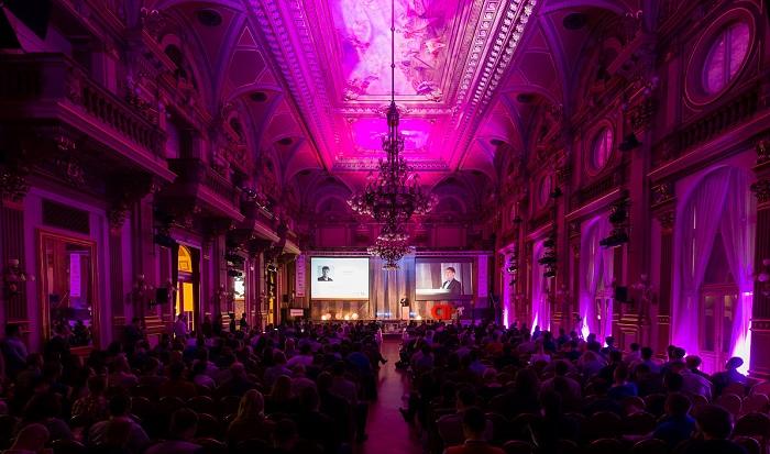 Národní dům na Vinohradech, kde se konala konference CIF 2017. Foto: Internet Info
