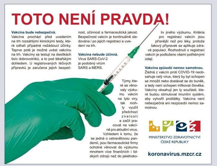 Kritizovaný inzerát ministerstva zdravotnictví