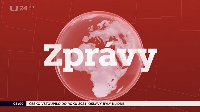 Nová grafika ČT24, zdroj: twitter účet Františka Lutonského, ČT