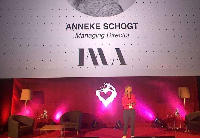 Anneke Schogt z IMA na Cannes in Prague, foto: MediaGuru.cz