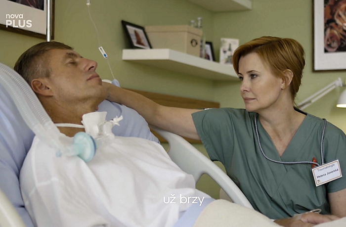 Upoutávka na nový seriál Anatomie života, zdroj: repro TV Nova