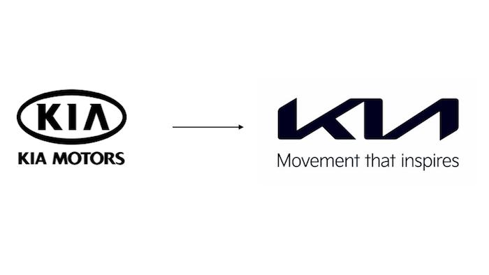 Kia mění logo.