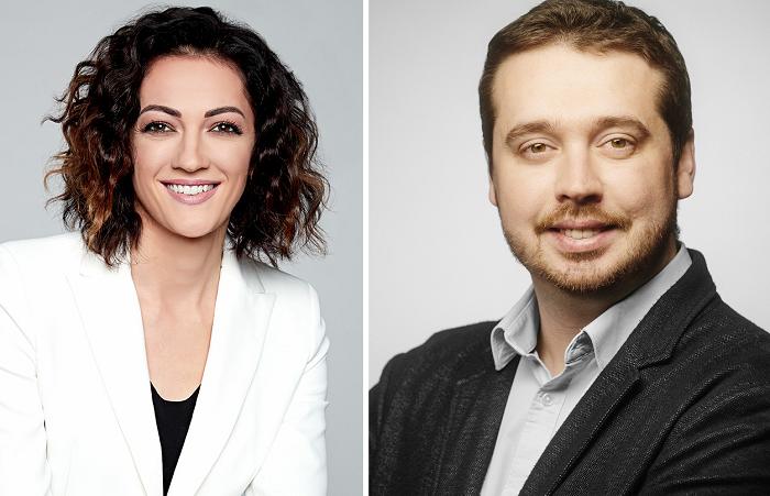 Silvia Majeská a Jakub Strýček, zdroj: TV Nova