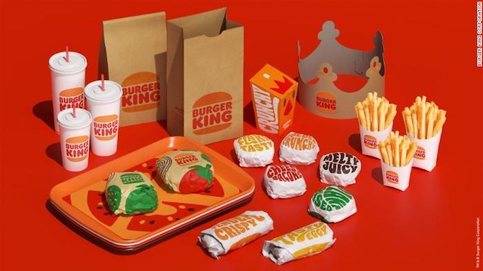 Nové obaly Burger Kingu, zdroj: Burger King