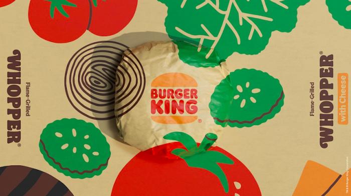 Detail obalu Whopperu, zdroj: Burger King