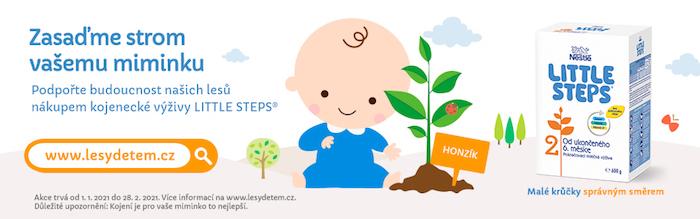 Vizuál ke kampani značky Little Steps, zdroj: Nestlé