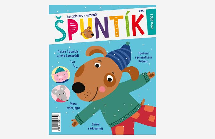 Titulní strana připravovaného časopisu Špuntík, zdroj: A 11
