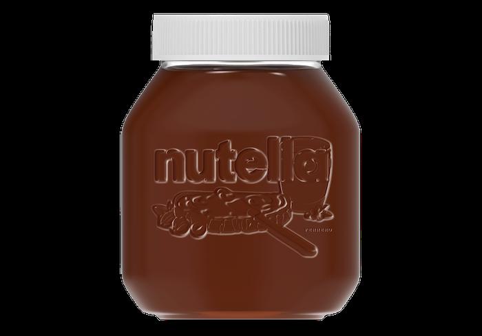 Nutella se ve Francii začala pilotně prodávat v opětovně použitelných sklenicích, zdroj: Ferrero.