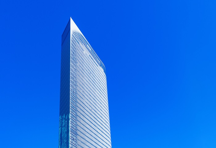 Tokijská budova Dentsu, zdroj: Shutterstock
