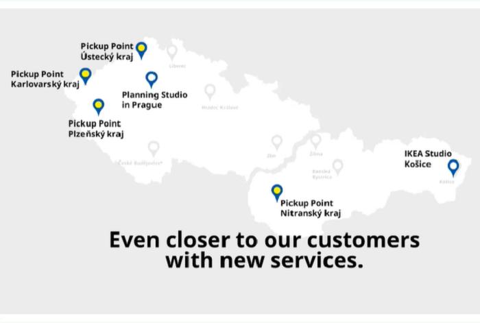 Kromě pobočky v praze letos Ikea otevře 3 výdejní místa, zdroj: Ikea