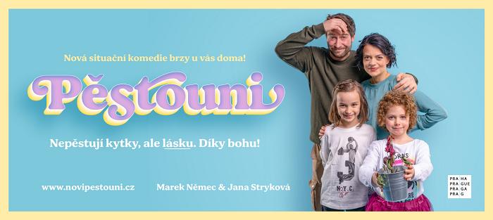 Reklamní vizuál kampaně Pěstouni, zdroj: Hlavní město Praha