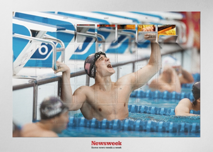 Newsweek - Olympic Drunk od agentury Young & Rubicam