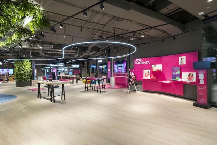 Magenta Experience Center kombinuje na ploše přes 800 metrů čtverečních několik funkcí najednou, zdroj: T-Mobile.