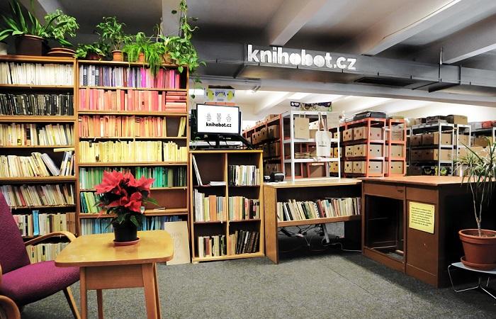 Firma má sklad v Praze 7, který funguje zároveň jako výdejna, zdroj: Knihobot