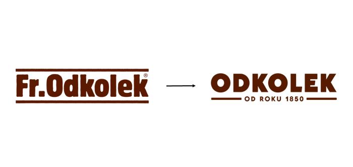 Značka Odkolek mění logo i vizuální identitu.
