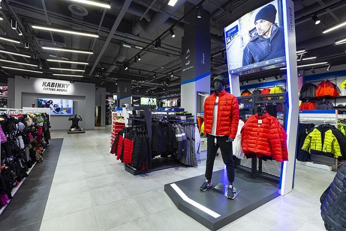 Nedávno začalo remodelovat svoje prodejny Sportisimo, zdroj: Moris design