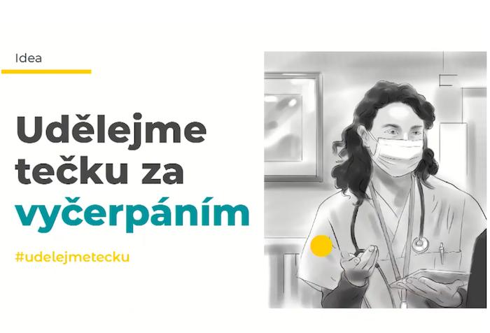 Další ze skic vládní kampaně na očkování, nejedná se ještě o finální klíčový vizuál, zdroj: ARAs.
