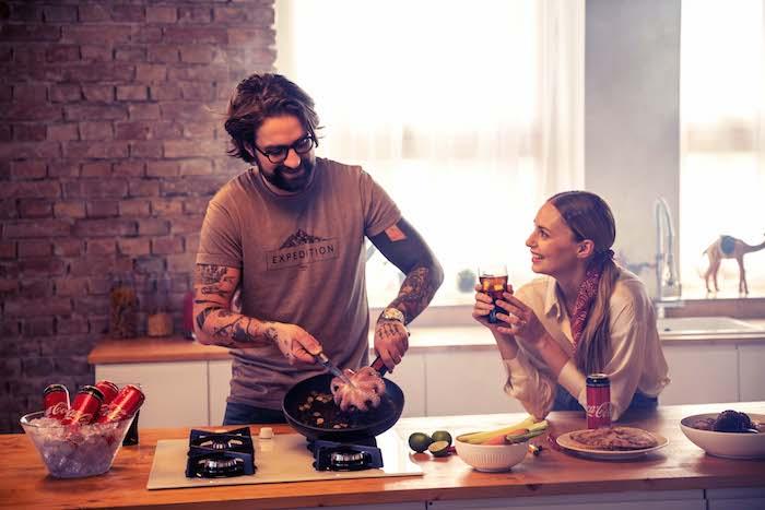Na Instagramu bude pro Coca-Colu vařit Marek Pavala a Mária Čírová, zdroj: Coca-Cola.