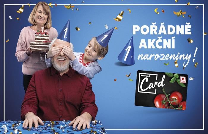 K-Card slaví rok a má přes 1,5 mil. zákanzíků, zdroj: Kaufland