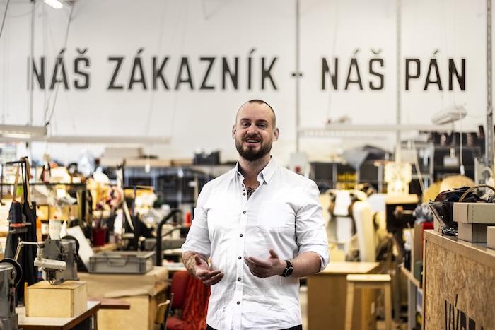 Michal Krčmář nastoupil v únoru a chce se zaměřit na posílení digitální transformace firmy, zdroj: Brašnářství Tlustý
