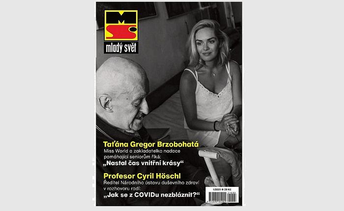 Titulní strana obnoveného týdeníku Mladý svět