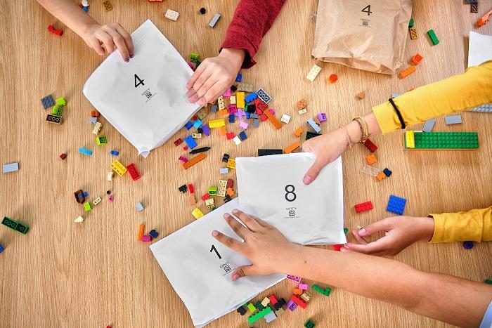 Lego mění původně plastové sáčky v krabicích za papírové, zdroj: Lego Group