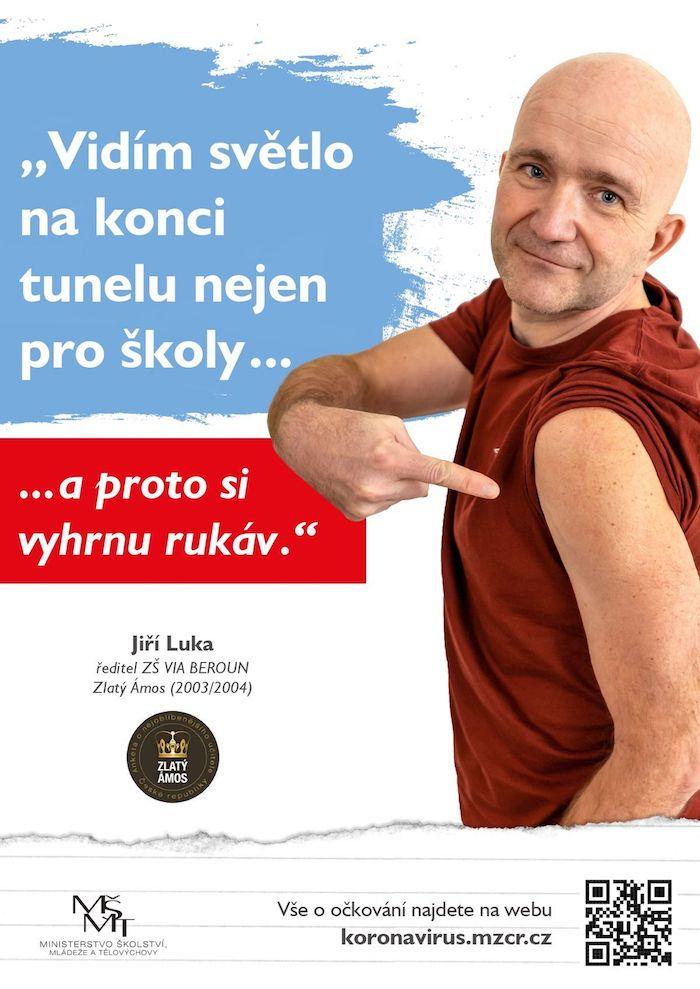 Jeden z klíčových vizuálů kampaně MŠMT, zdroj: MŠMT