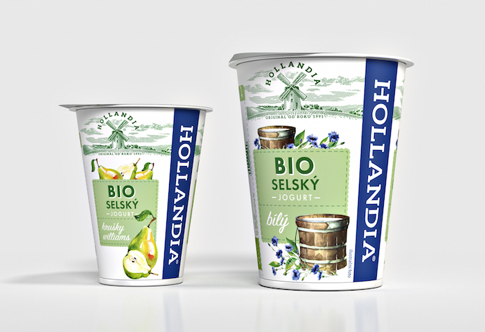 Bio jogurty Hollandia, foto: Cocoon