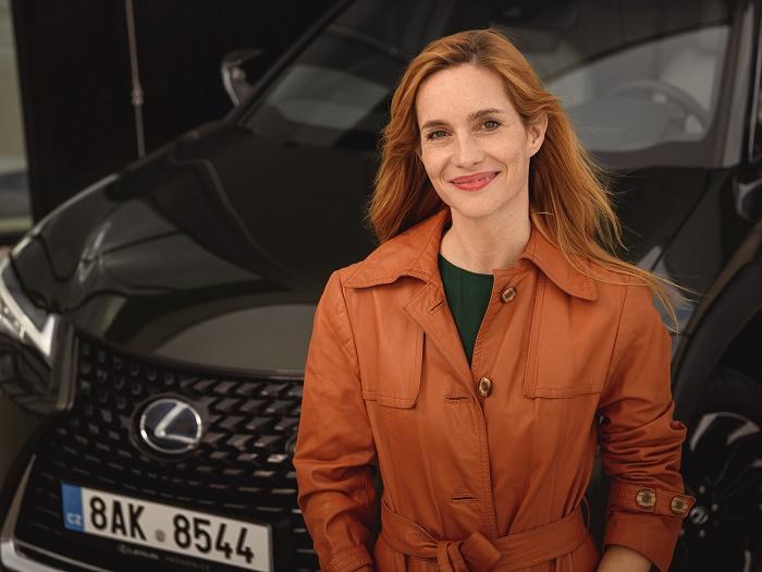 Hana Vagnerová se stala tváří průhonického showroomu Lexusu, zdroj: Toyota ČR.