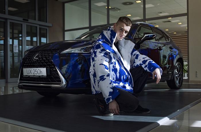 Jan Černý si design svého vozu Lexus UX sám navrhl, zdroj: Toyota ČR.