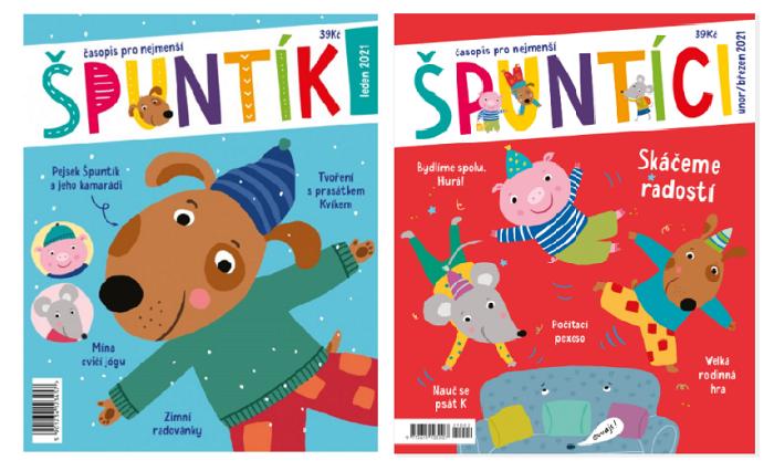 Nový název časopisu Špuntík je Špuntíci